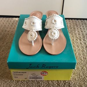 Brand New Jack Rogers, Never Worn. Size 6.